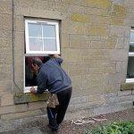 Montaggio finestre in abitazione privata
