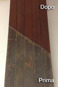 Ripristino pannelli in legno