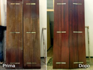 Ripristino vecchi serramenti in legno
